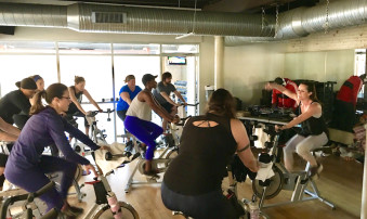 Cycling Spin Federal Hill FH FITNESS
